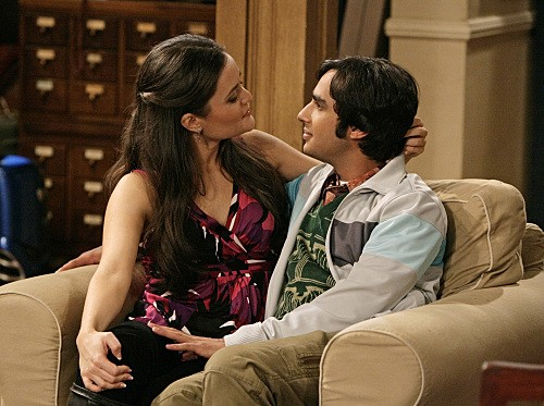 The Big Bang Theory: Kunal Nayyar e Danica McKellar nell'episodio The Psychic Vortex