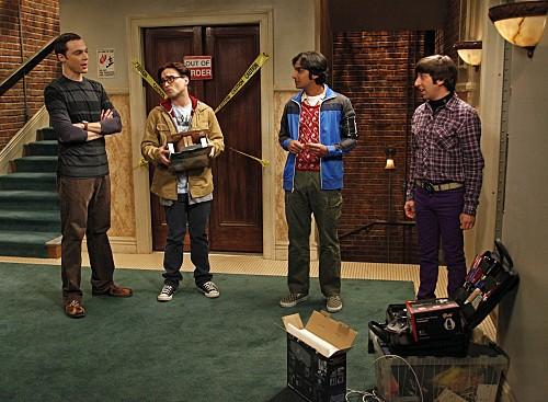 The Big Bang Theory: un momento dell'episodio The Bozeman Reaction