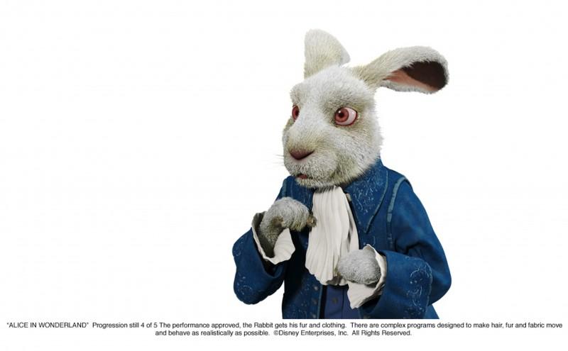 Alice in Wonderland, costruzione di una sequenza in 3D del film di Burton