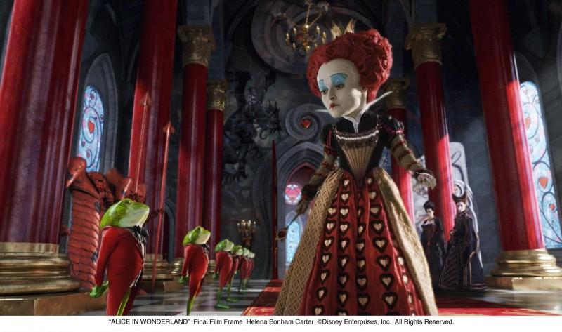 Alice in Wonderland: Helena Bonham Carter interpreta la Regina Rossa