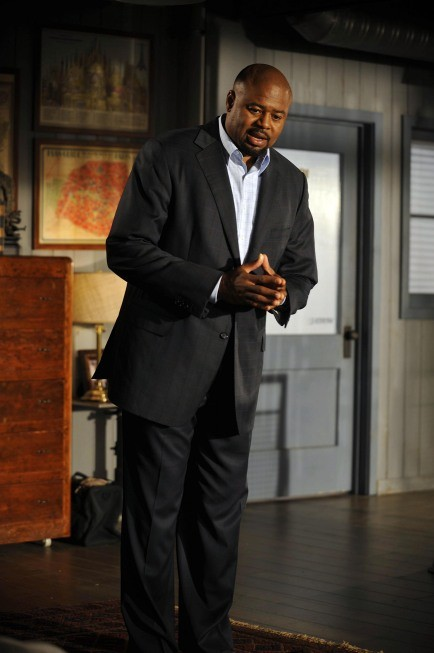 Human Target: Chi McBride in un momento dell'episodio Run