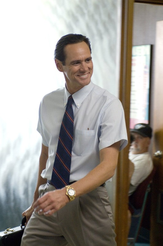 Jim Carrey nel ruolo di Steven Russell nel film I Love You Phillip Morris