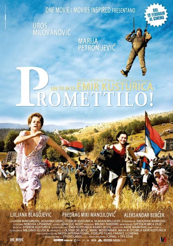 La locandina italiana di Promettilo!