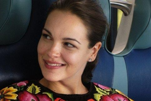 Tammy Blanchard in una sequenza del film Bella