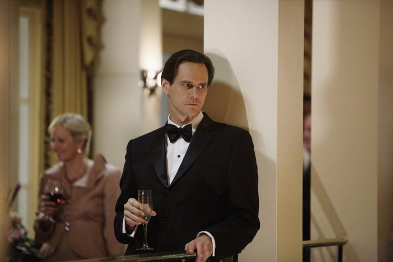 Un elegante Jim Carrey nel ruolo di Steven Russell nel film I Love You Phillip Morris