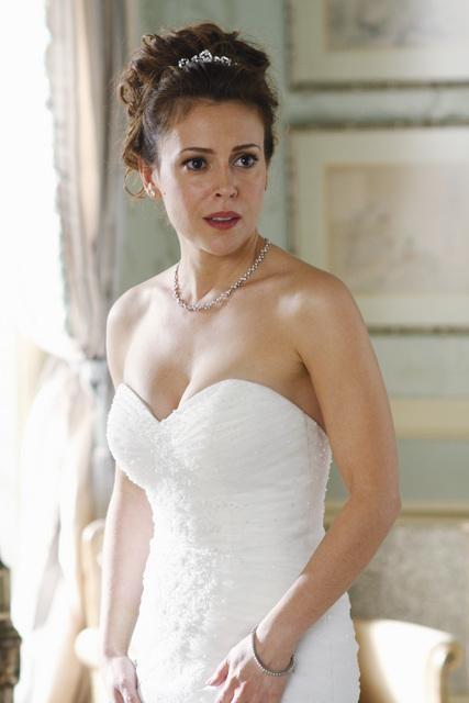 Alyssa Milano nell'episodio A Rose for Everafter di Castle