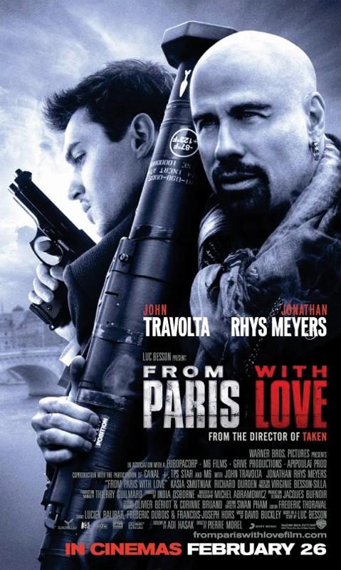 Ancora un manifesto di From Paris With Love