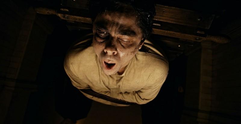 Benicio Del Toro prima della terribile trasformazione in The Wolf Man