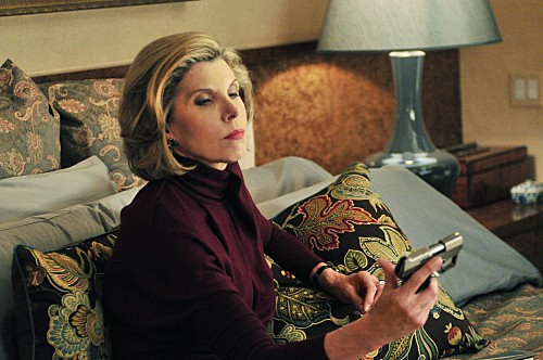 Christine Baranski nell'episodio Bad di The Good Wife