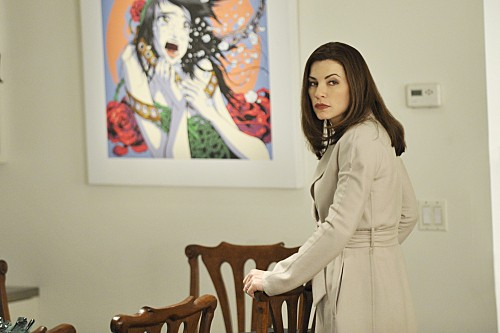 Julianna Margulies nell'episodio Bad di The Good Wife