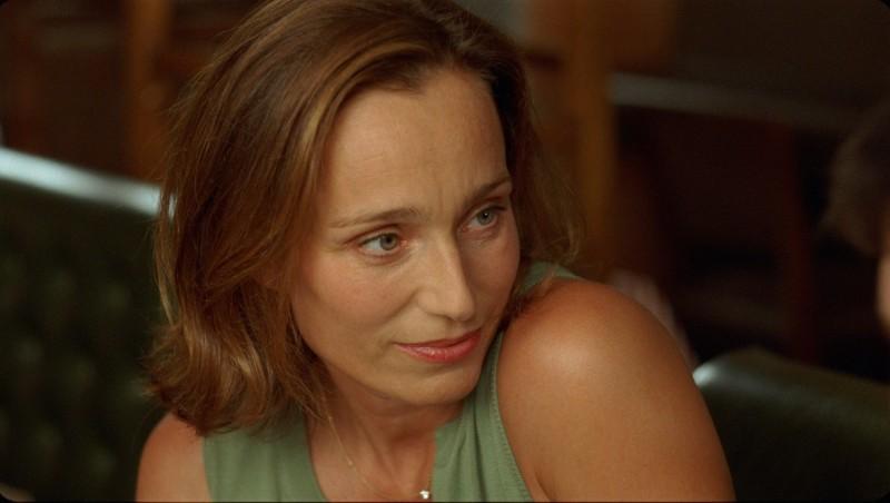 Kristin Scott Thomas in una scena del film L'amante inglese