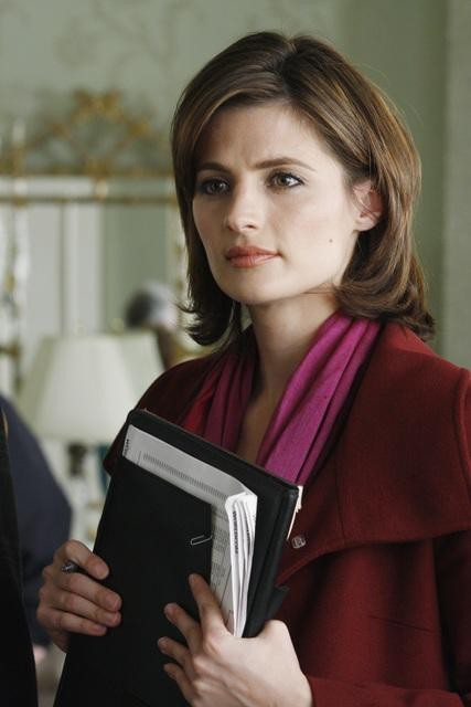 Stana Katic nell'episodio A Rose for Everafter di Castle