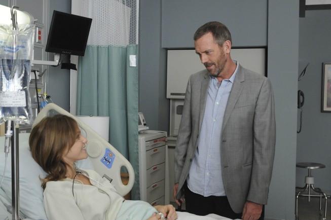 Hugh Laurie in una scena di Remorse, dalla sesta stagione di Dr. House: Medical Division