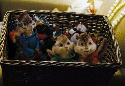 I Chipmunk in un'immagine del film Alvin Superstar 2