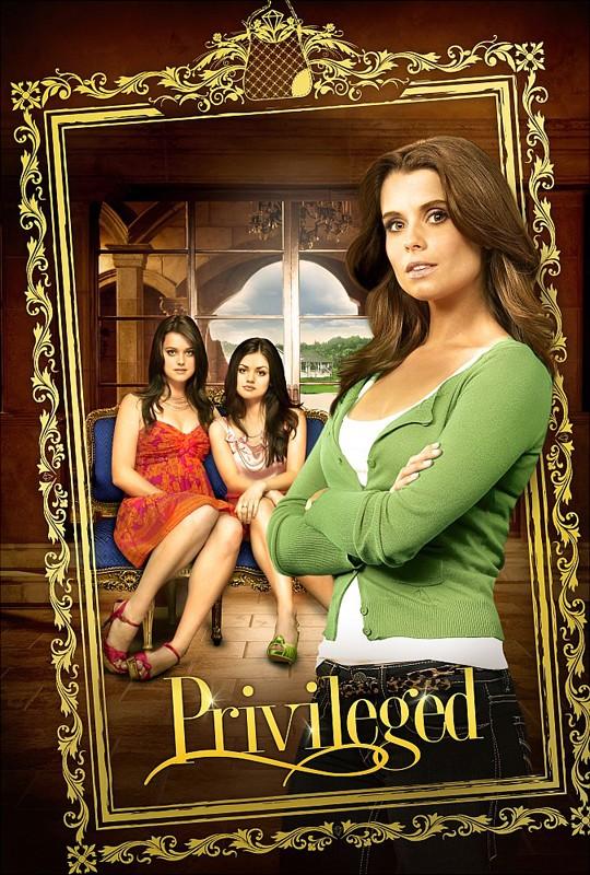 Il poster della serie Privileged