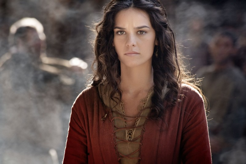 Katy Louise Saunders nel film TV su Sant'Agostino