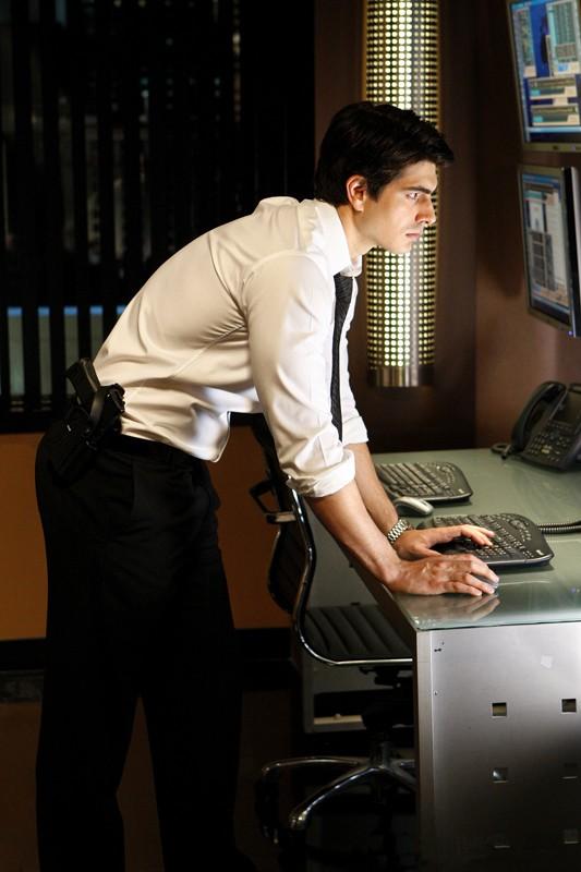 La guest-star Brandon Routh nel ruolo di Daniel Shaw nell'episodio Chuck Vs. Operation Awesome