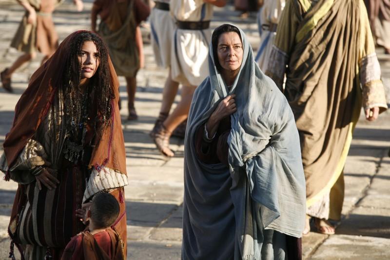 Serena Rossi e Monica Guerritore nel film TV su Sant'Agostino