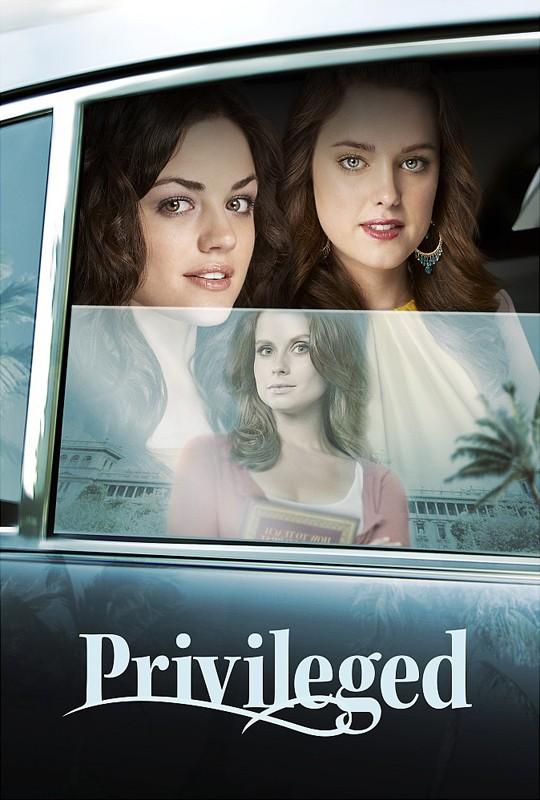 Un primo poster per la serie tv Privileged