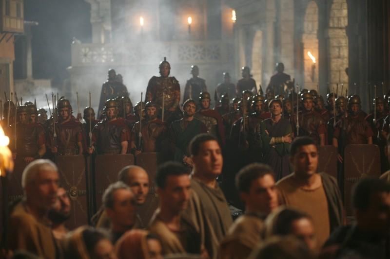 Una scena della miniserie Sant'Agostino