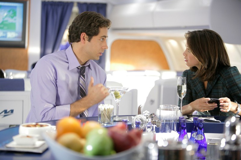 Zachary Levi e Kristin Kreuk in una sequenza dell'episodio Chuck Vs. First Class