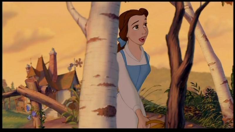 Belle è la protagonista del film d'animazione La bella e la bestia (1991)