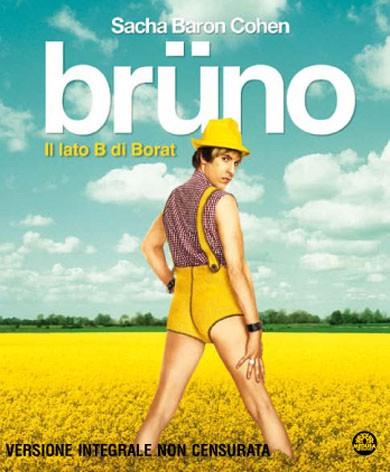 La copertina di Brüno (blu-ray)