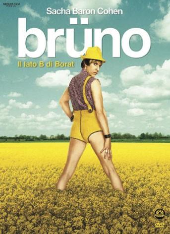 La copertina di Brüno (dvd)