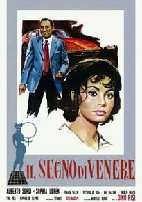 La copertina di Il segno di Venere (dvd)