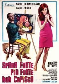 La copertina di Spara forte, più forte... non capisco! (dvd)
