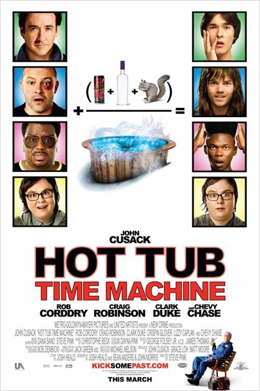 La locandina di Hot Tub Time Machine