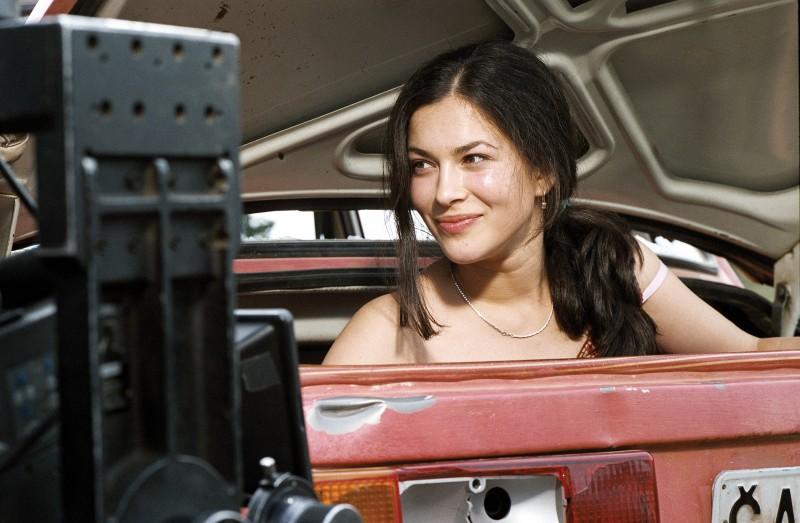 Marija Petronijevic in una scena del film Promettilo!