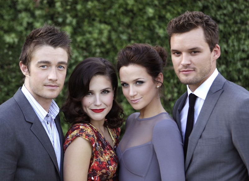 Robert Buckley, Sophia Bush, Shantel VanSanten e Austin Nichols per la 7 stagione di One Tree Hill
