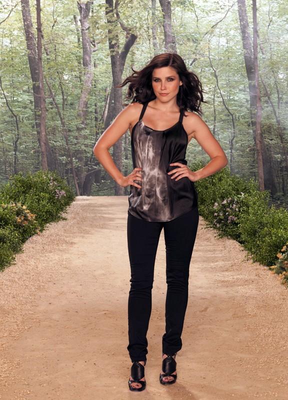 Una foto promozionale di Sophia Bush per la settima stagione di One Tree Hill