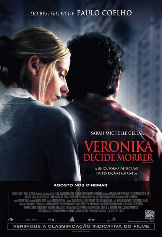 Il poster Brasiliano del film Veronika Decides to Die