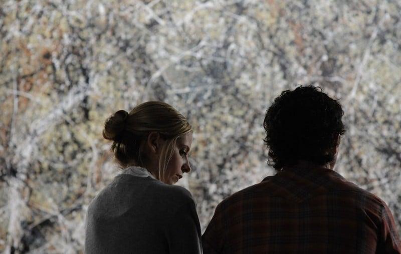 Sarah Michelle Gellar (Veronika) e Jonathan Tucker (Edward) in controluce del film Veronika Decides to Die