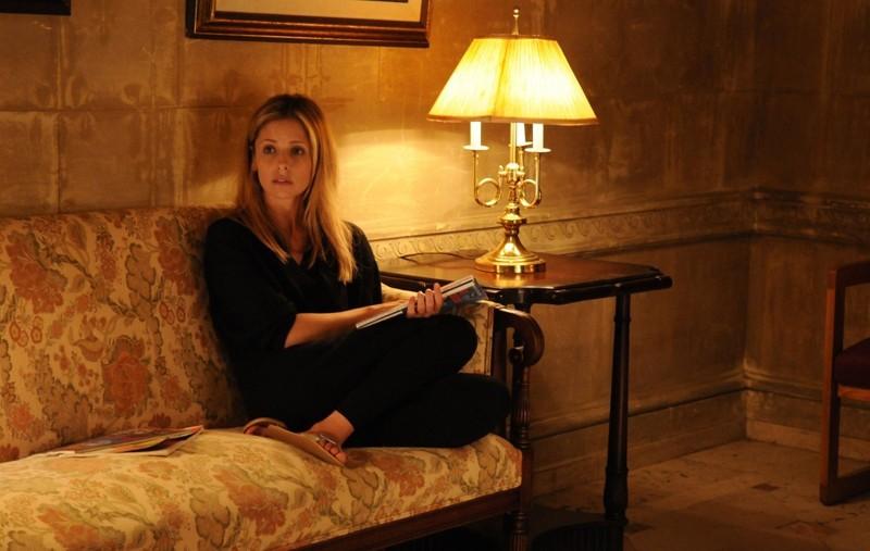 Sarah Michelle Gellar (Veronika) in una sequenza del film Veronika Decides to Die