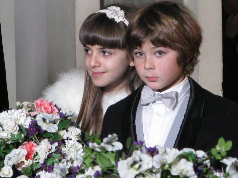 Angelica Cinquantini e Federico Russo sul set de I Cesaroni 3