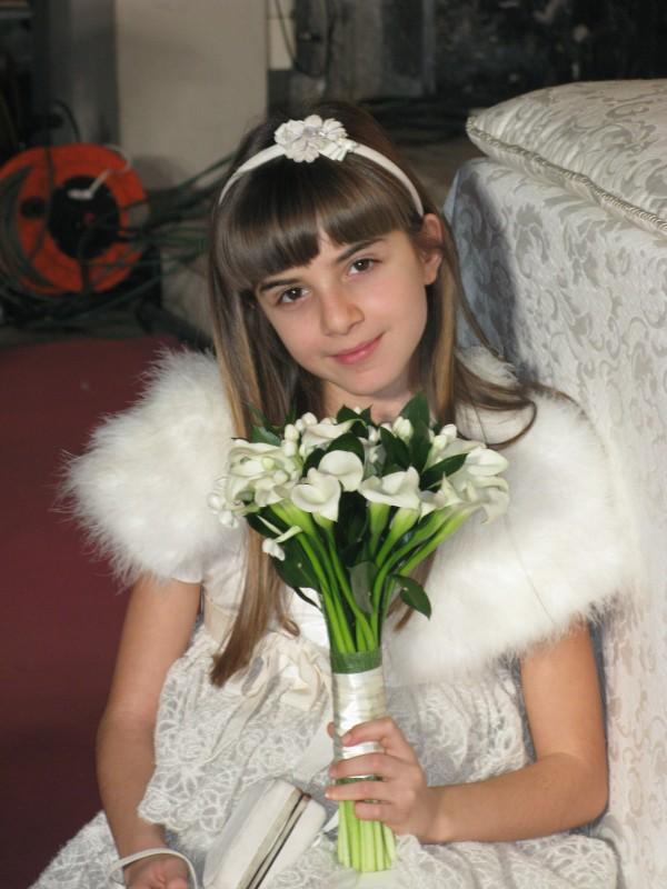 Angelica Cinquantini sul set de I Cesaroni 3
