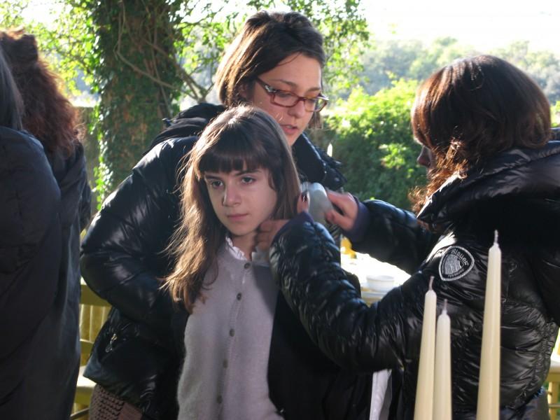 Cesaroni 4: Angelica Cinquantini (Matilde) sul set della serie televisiva