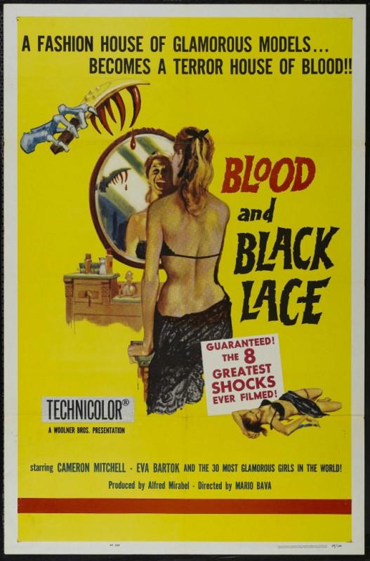 Locandina del film Sei donne per l\'assassino ( 1964 )