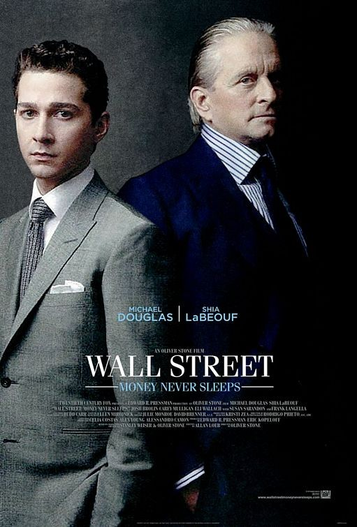 Nuovo poster per Wall Street 2: Money Never Sleeps