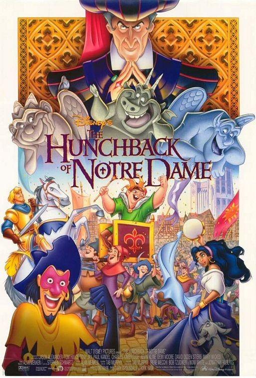 Poster del film d\'animazione Il gobbo di Notre Dame (1996)