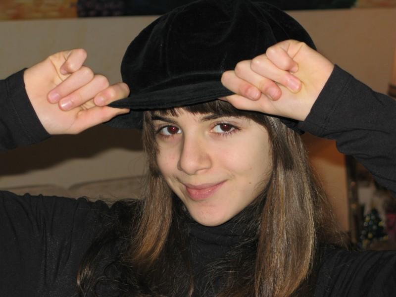 Una immagine dell'attrice Angelica Cinquantini.