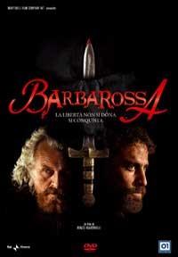 La copertina di Barbarossa (dvd)
