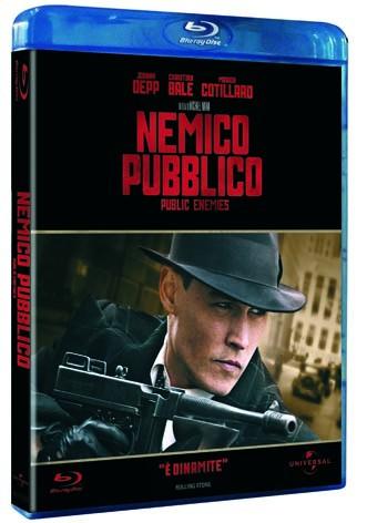 La copertina di Nemico pubblico - Public Enemies (blu-ray)