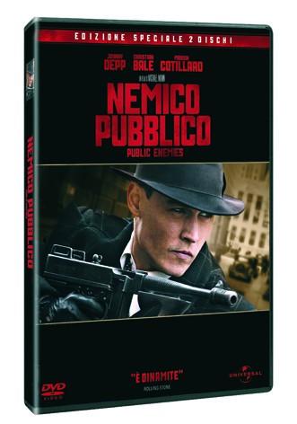 La copertina di Nemico pubblico - Public Enemies - Edizione speciale (dvd)