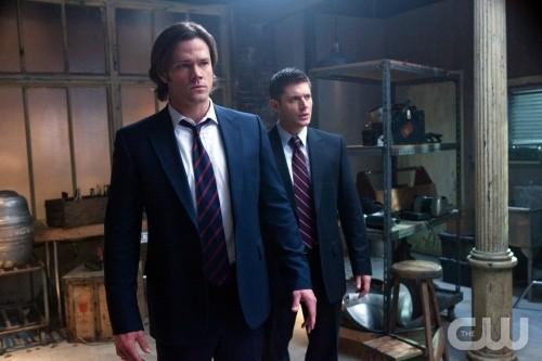 Supernatural: Jared Padalecki e Jensen Ackles nell'episodio My Bloody Valentine