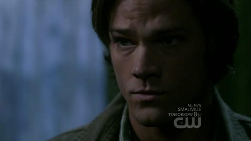 Supernatural: Jared Padalecki in una scena dell'episodio Swap Meat