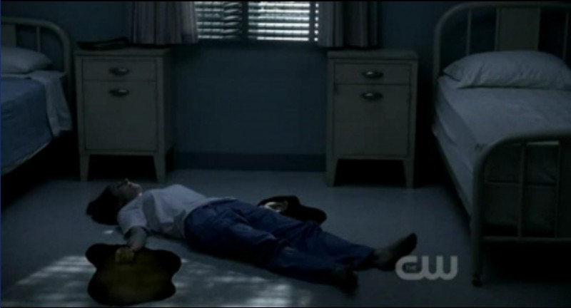 Supernatural: una scena dell'episodio Sam, Interrupted